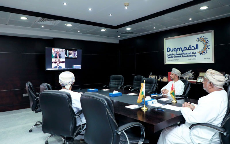 Oman-India Investment Webinar discusses opportunities available in Duqm